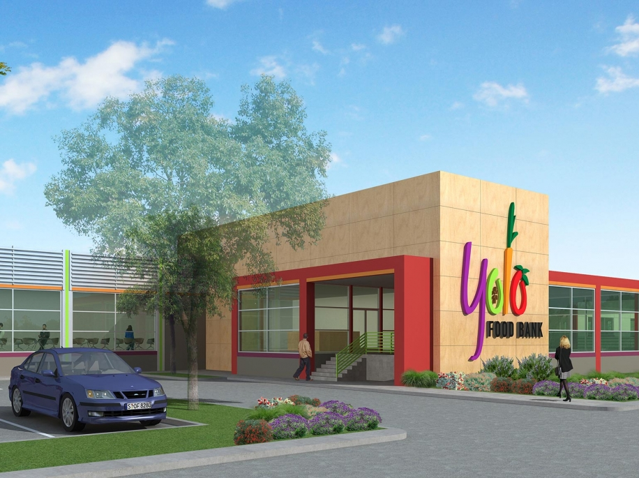 "Brown Construction ""Building it Forward"" with expansion of Yolo Food Bank"